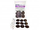 Ursa Plush Circles pack of 9, brown