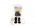 Ursa Fur Circles pack of 9, Multi Pack, 3x black, 3x brown, 3x white