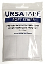 Ursa Tape, 30x Small Strips 8 X 2,5 Cm,  White