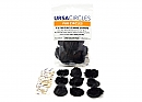 Ursa Fur Circles pack of 9, black