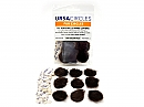 Ursa Fur Circles pack of 9, brown