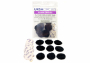 Ursa Plush Circles pack of 9, black